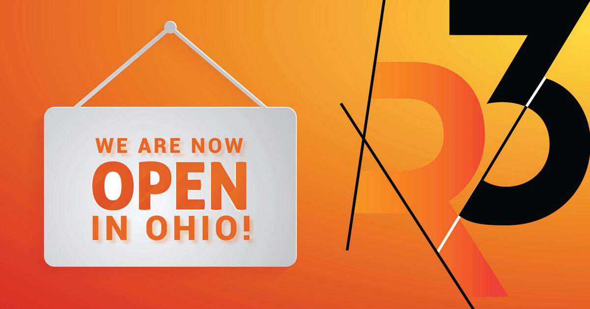 R3 to open Ohio office!