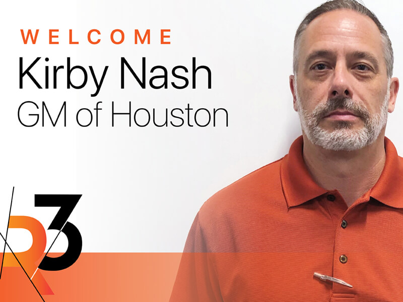 R3 Houston office now open!