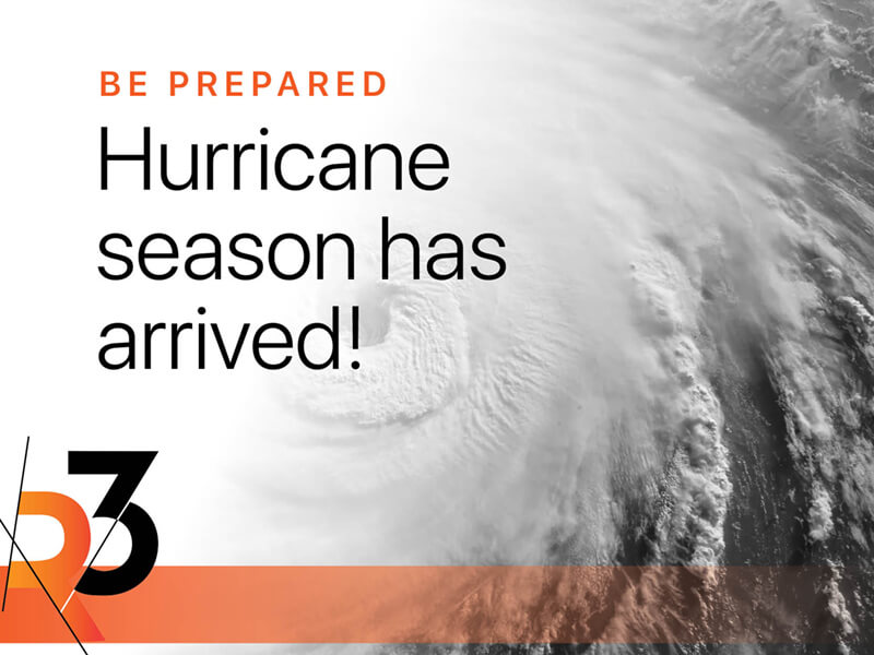 The best way to make it through hurricane season is to be prepared
