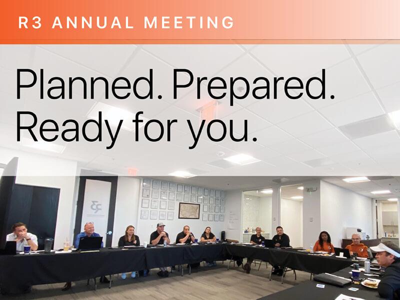 Team R3 Made Plans and Met New Team Members at Annual Meeting in June 2021